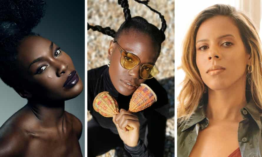 Elisabeth Troy, Shingai and Kelli-Leigh, three of the singers campaigning for better credit and representation in the UK industry.
