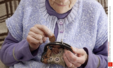 UK elderly suffer worst poverty rate in western Europe