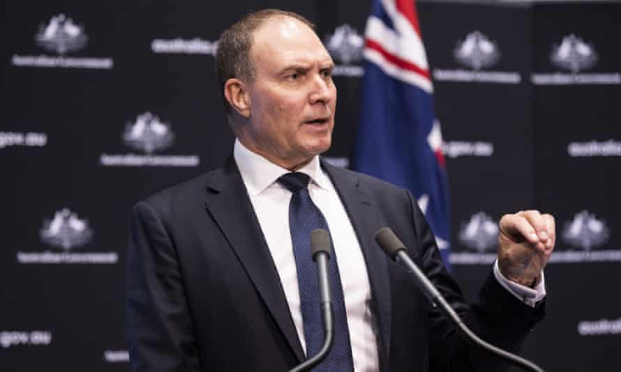 Nev Power, the head of the Morrison government's National Covid-19 Coordination Commission