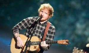 Photographic memory: Ed Sheeran accused of copyright infringement.
