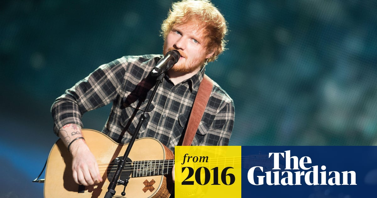 Ed Sheeran's Thinking Out Loud wins song of the year at the