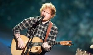 Ed Sheeran … Winner.