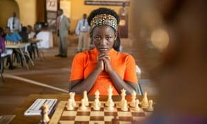 Madina Nalwanga in Queen of Katwe.