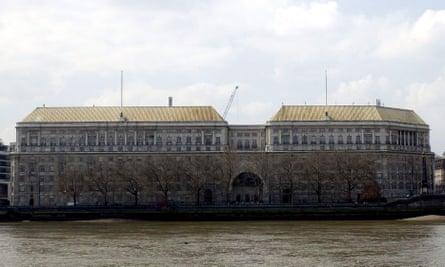 The MI5 building
