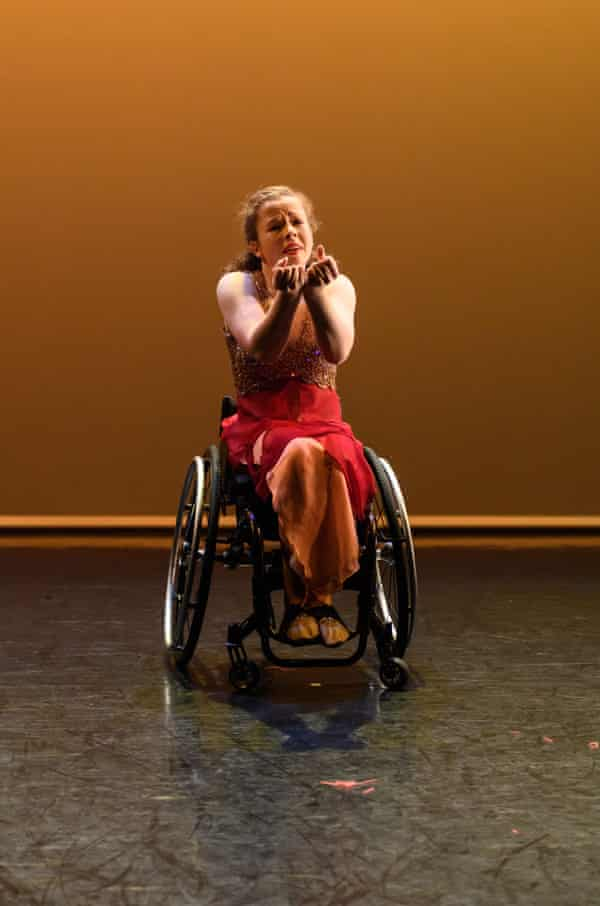 Amy Trigg in Fusion at Sadler's Wells, London, in 2018.