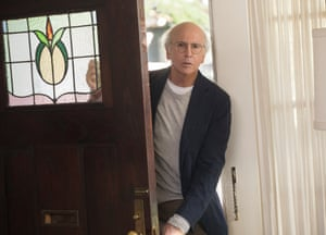 Goes to dark places and has a blast there … Larry David's Curb Your Enthusiasm is back.