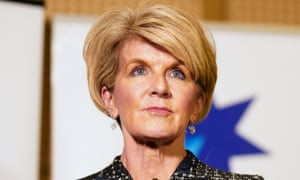 Australia's foreign affairs minister, Julie Bishop, says: 'I think it is too early to say ... suspension [of war games' has occurred.'