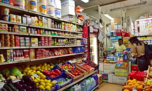 A convenience store in Rome