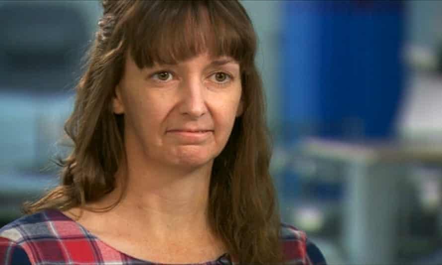 British nurse Pauline Cafferkey speaks during a January 2015 interview in London.