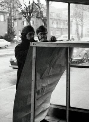 Action on a LIDL anniversary at the parliament in Bonn, 31 January 1969