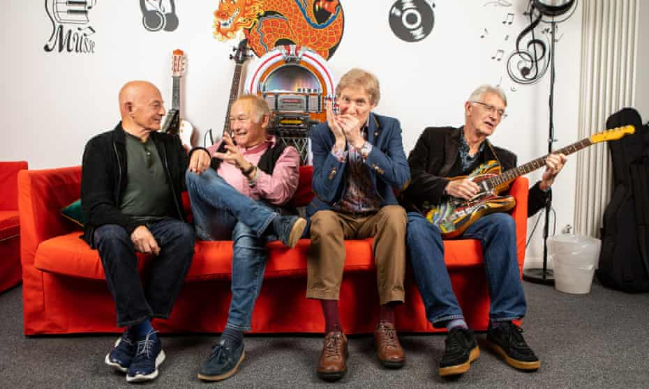 The Manfreds, from left: Mike Hugg, Mike D'Abo, Paul Jones and Tom McGuinness.