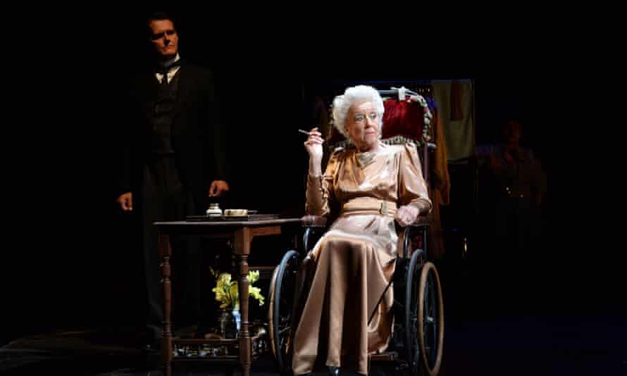 Dame Josephine Barstow as Madam Armfeldt with Ivan Sharpe as Fridin A Little Night Music.
