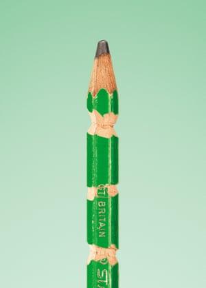 Anish Kapoor's pencil