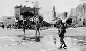 The aftermath of rioting in Washington DC following the death of Martin Luther King in 1968. 'We are in the middle of an uprising unseen in this nation in at least 50 years.'