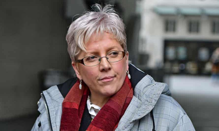 BBC journalist Carrie Gracie