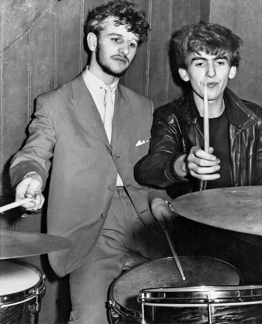 Ringo and George.
