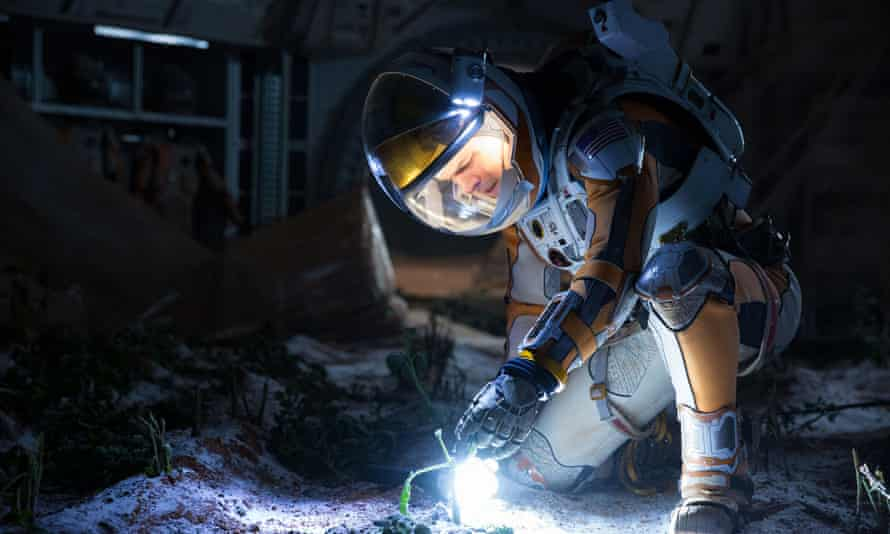 Matt Damon in The Martian. The 20th Century Fox studio is one of Rupert Murdoch's subsidiaries targeted for job cuts.