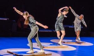 A scene from ETM: Double Down by Dorrance Dance.