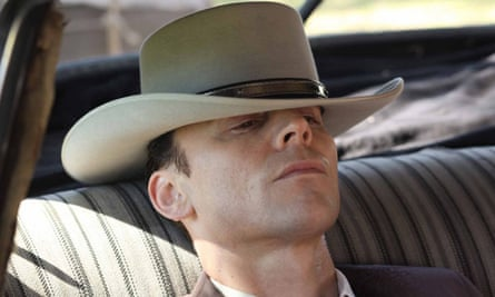 Country boy: as Hank Williams in I Saw The Light.