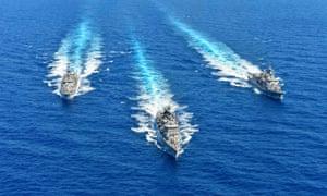 Greek navy ships