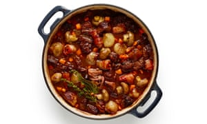 Felicity Cloake's perfect game stew. Photographs: Dan Matthews for the Guardian. Food styling: Jack Sargeson