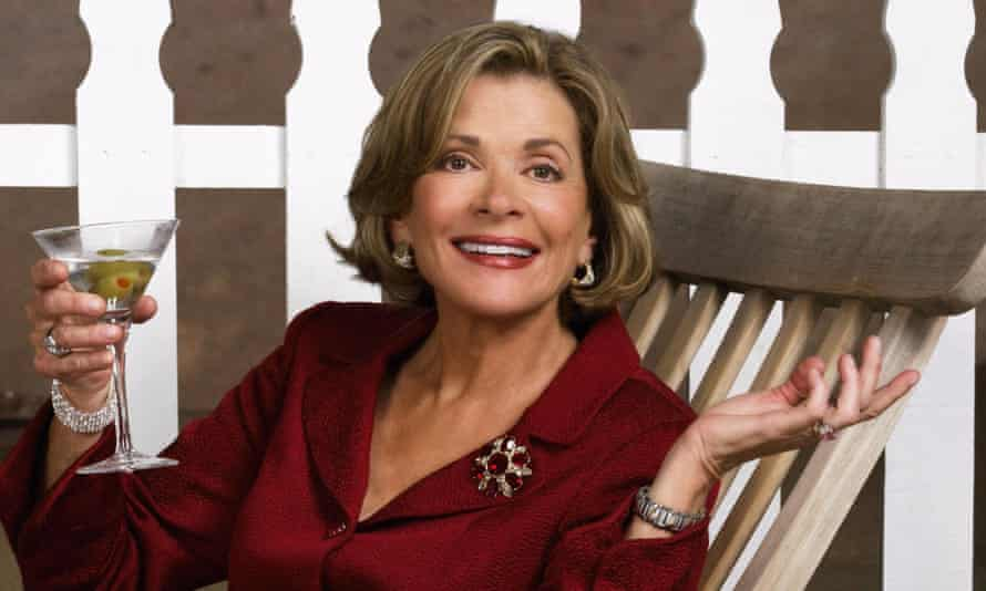 Jessica Walter as Lucille Bluth on Arrested Development in 2003