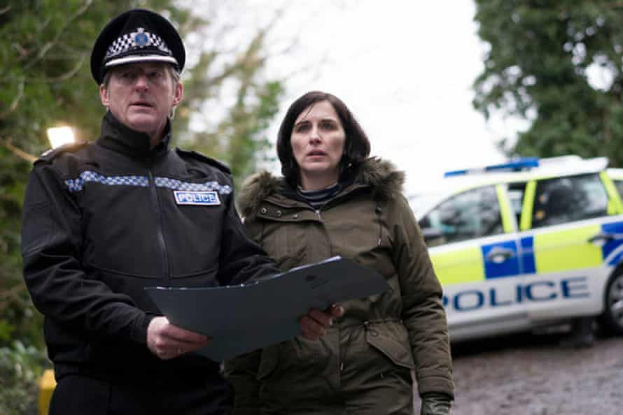 Adrian Dunbar and Vicky McClure in BBC's Line of Duty