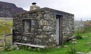 Arenig Fawr bothy, Snowdonia.