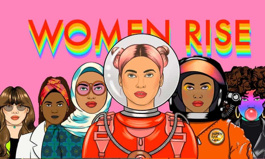 Cover for #WomenRiseNFT