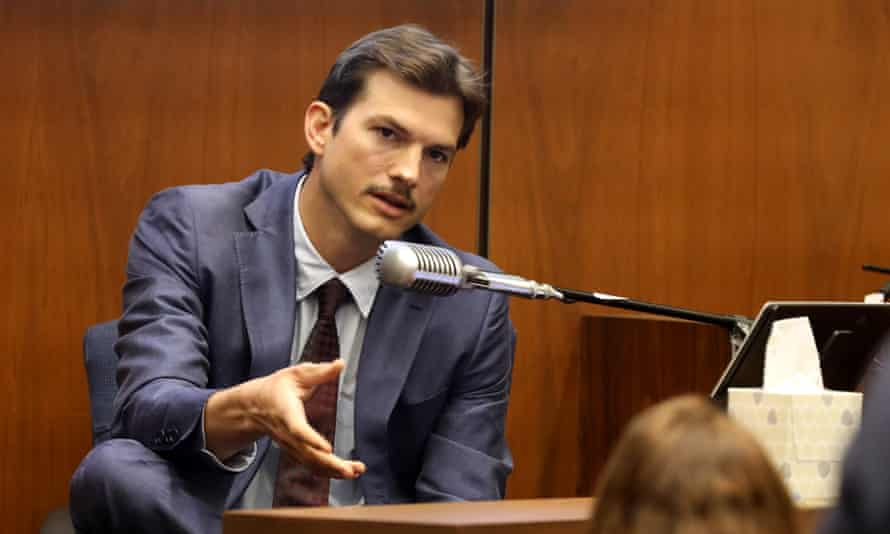 Ashton Kutcher testifies in Los Angeles.