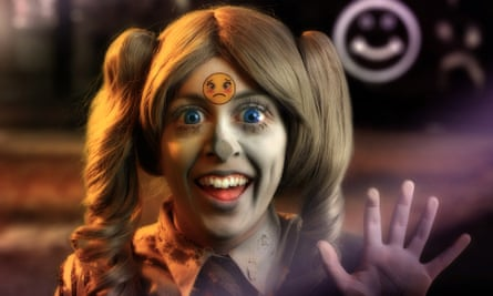 Still from Feed Me by Rachel Maclean, who will represent Scotland at the 2017 Venice biennale.