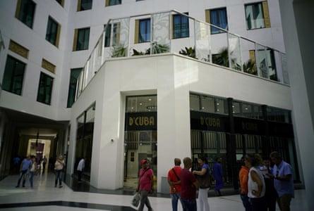cuba Manzana de Gomez mall