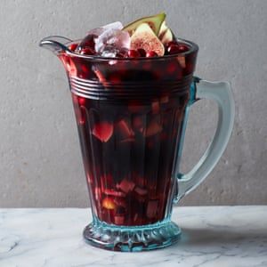 Albert Blaize and Claire Strickett's port and cranberry winter sangria