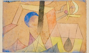 Junger Blaumond (Young Blue-Moon) by Paul Klee