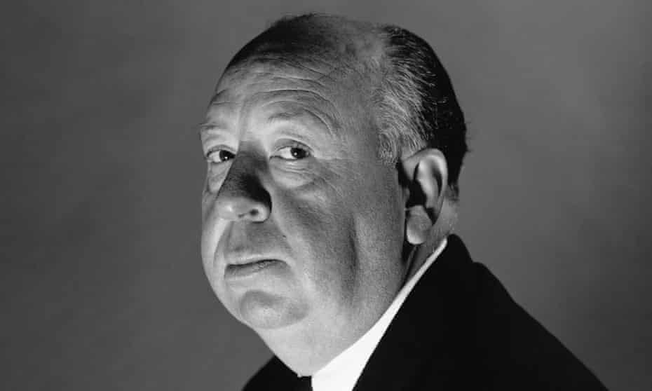 Alfred Hitchcock in London, 1956.