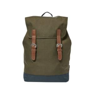 Buckle backpack, £35, marksandspencer.com