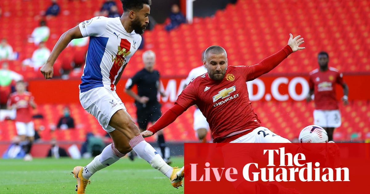 Manchester United v Crystal Palace: Premier League – live! - the guardian