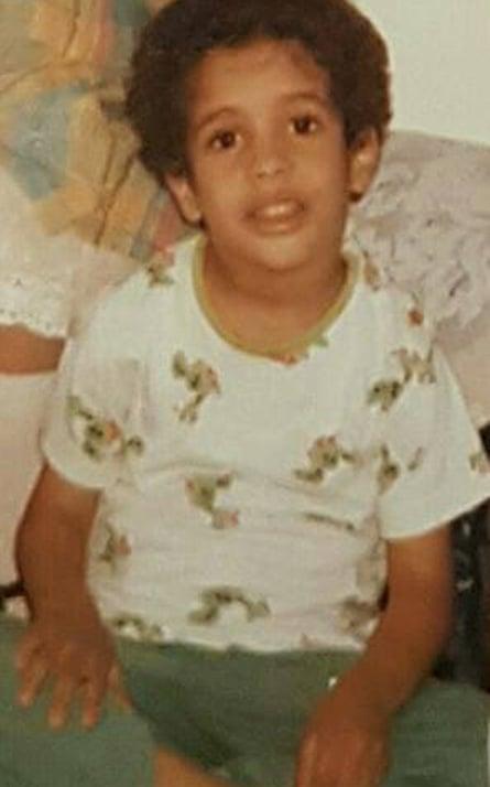Khalid bin Laden, son of Osama, as a child