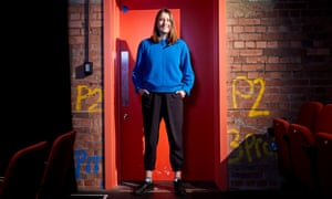 playwright and theatre director Tess Seddon at Leeds Playhouse.