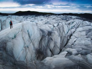 Phoebe Smith in Iceland