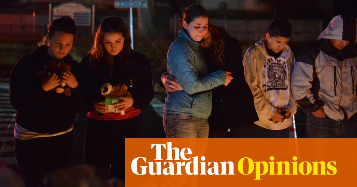 Why Americans won't give up their guns   Gary Younge
