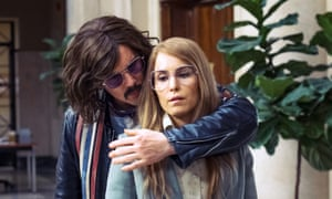 Stockholm syndrome? Ethan Hawke and Noomi Rapace.