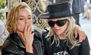 Opaque … Diane Kruger, left, and Kristen Stewart in JT Leroy