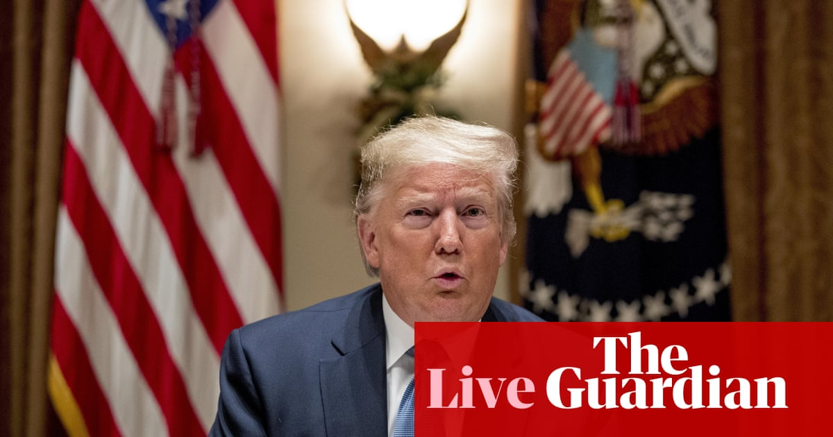 5472 - Democrats unveil articles of impeachment against Trump – live | US news