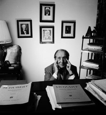 Vladimir Horowitz in 1988.