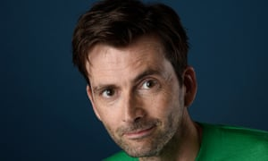 'I'm an optimist because otherwise there's no way forward': David Tennant.