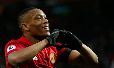 Anthony Martial takes his chance as Manchester United outclass Watford