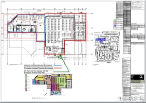 Woolworths' plans for its new Dan Murphy's store at Lake Haven.