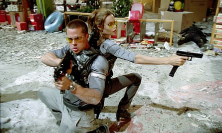 A scene from Mr & Mrs Smith