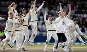 Australia win at Old Trafford to retain the Ashes. (Photo by Ryan Pierse/Getty Images)